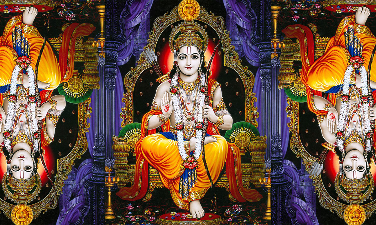 The Ramayana And The Odyssey - Eden Saga - english