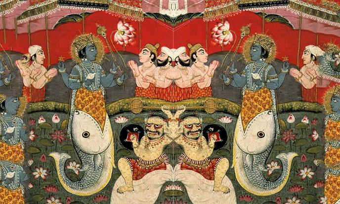 Hindu Noah Manu