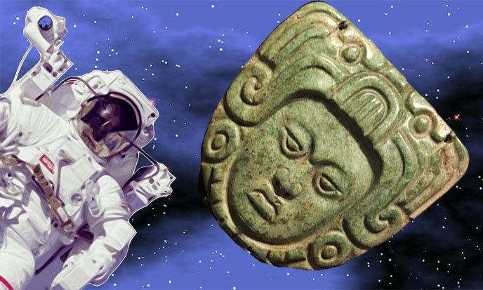 The Olmecs Were Astronauts