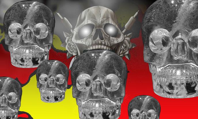 Thirteen Crystal Skulls