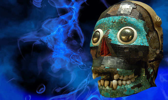 Smoking Mirror Tezcatlipoca