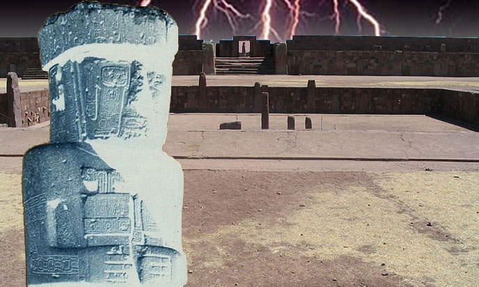 Lightning Catcher, Tiwanaku