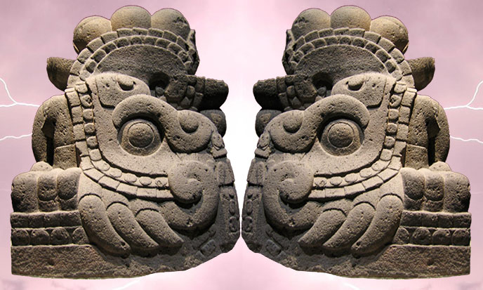 Feathered Serpent Quetzalcoatl