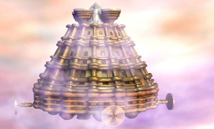 A Prehistoric UFO