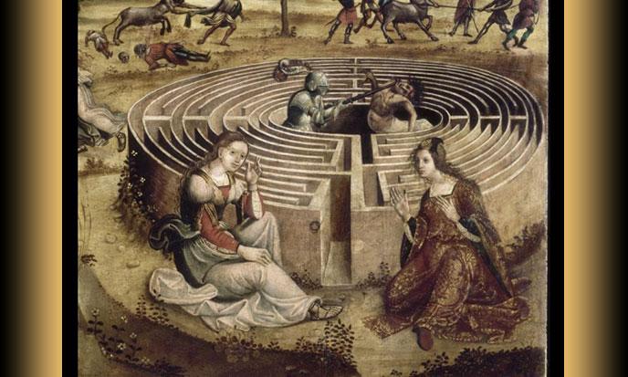 Thésée-Minotaure--1500-1525-MaîtredesCassoniCampana-688po