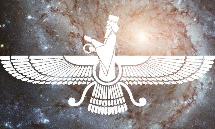 Ahura Mazda et les géants volants