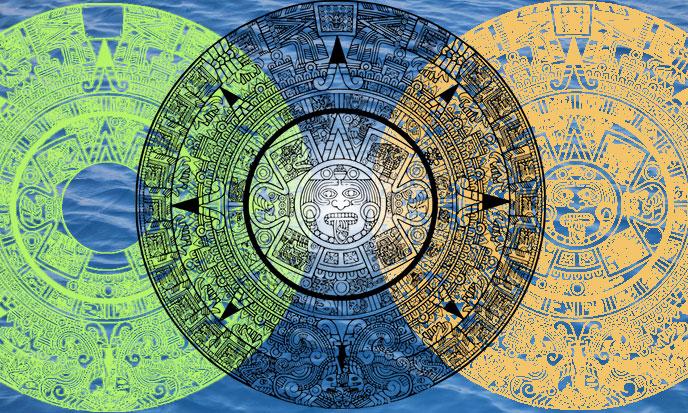 Les Cinq Soleils Mayas