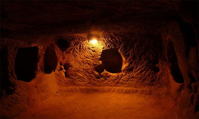 Cappadoce souterraine