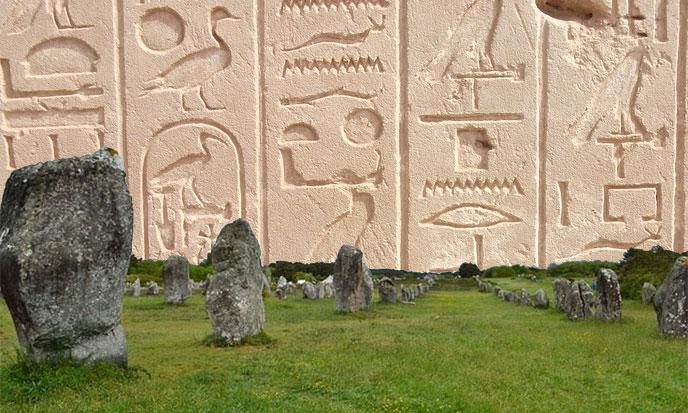Carnac et Karnak
