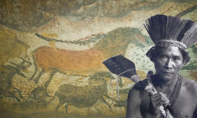 Chamane des grottes peintes
