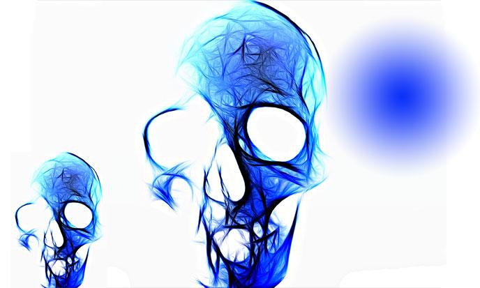 Treize crânes de cristal