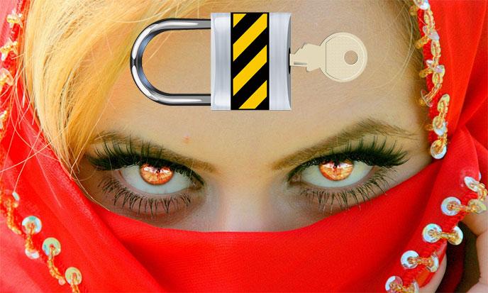 garoguru-femme-voilee-cadenas-pixabay-688po