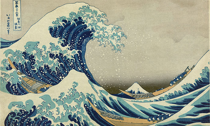 Une vague démesurée