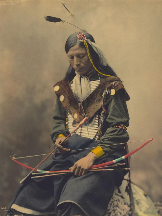 Indien déguisé pour la photo, vers 1900 - Pixabay, libre de droits