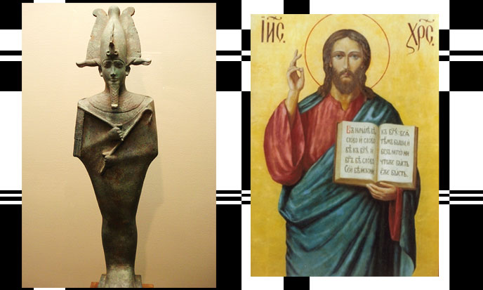 Osiris et Jésus