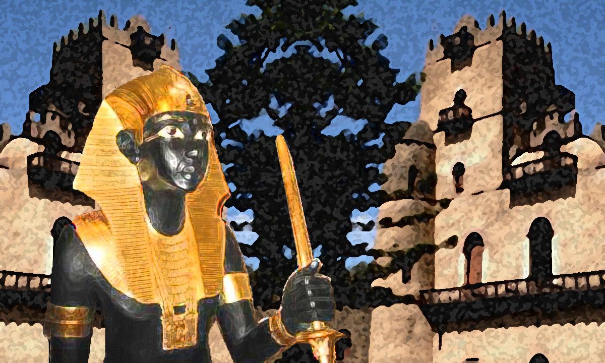 King Menelik Of Ethiopia - Eden Saga - english