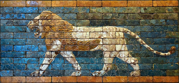 mesopotamie-lion-mosaique-688pl