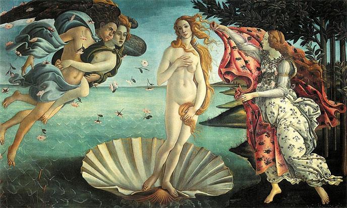 naissance-de-venus-botticelli-688po