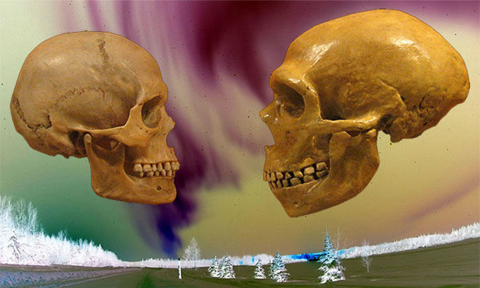 neandertal-sapiens-mikeBaxter-auroreboreale-usaf-wikimedia-688po