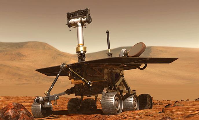Vie sur Mars ?