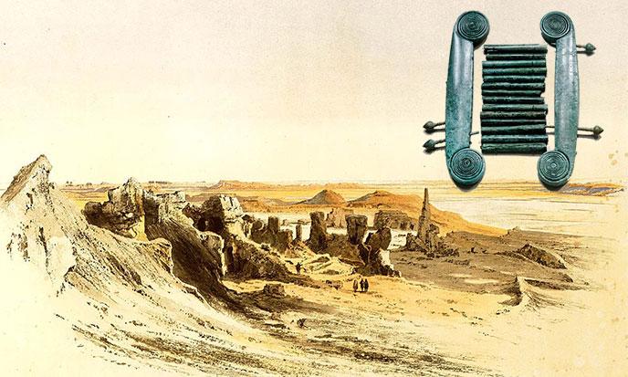 sais-egypte-ruines-instruments-688po