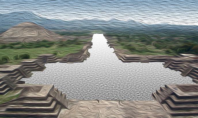 Le mercure de Teotihuacan