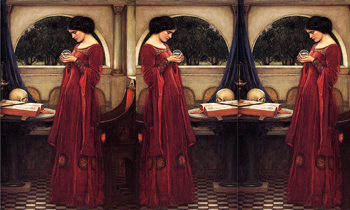 the-crystal-ball-johnWaterhouse-sk-688po
